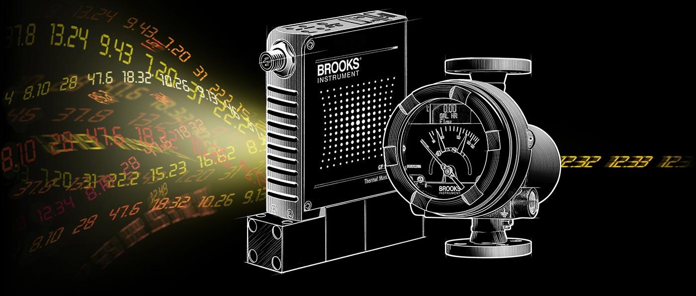 Brooks 流量和压力相关产品
