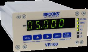 Brooks VR100 Single Channel Power Supply & Display Module