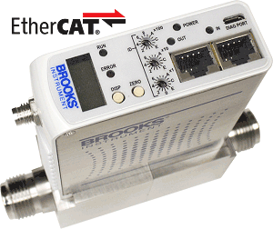 GF125 Mass Flow Controllers with EtherCAT & Self-Diagnostics