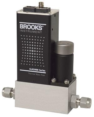 Brooks Instrument SLA5850 Mass Flow Controller with EtherNet/IP