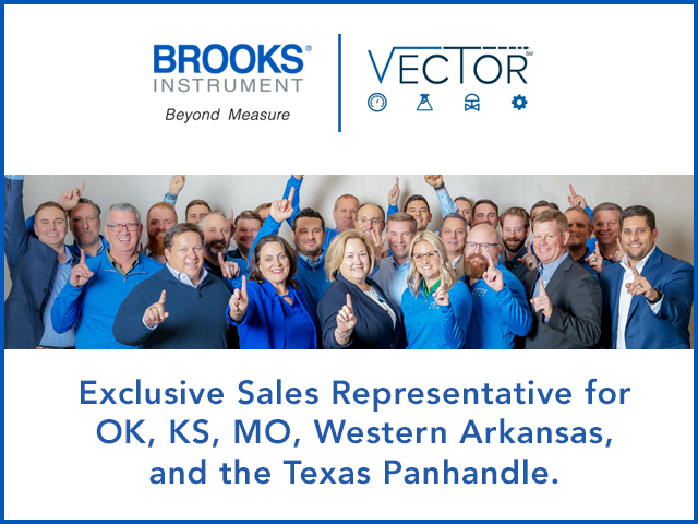 Brooks Instrument exclusive sales partner Vector Controls and Automation Group