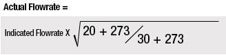 Temperature Correction Example