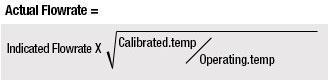 Temperature Correction Calculation