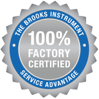 Brooks Service Advantage Logo Seal