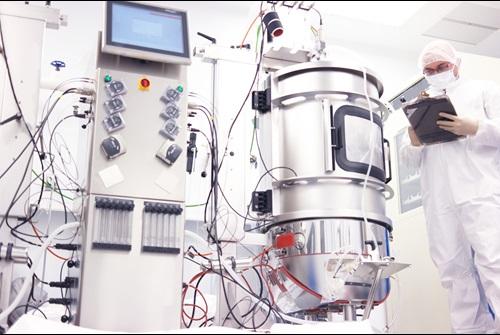 Bioreactor using Mass Flow Controllers
